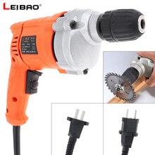 Ręczna wiertarka elektryczna 220V 710W o dużej mocy z przełącznikiem regulacji obrotów i uchwytem wiertarskim 10mm do wkrętów manipulacyjnych