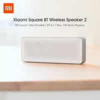 Xiaomi-altavoz Mi Square Box 2, Altavoz inalámbrico PORTÁTIL ESTÉREO con micrófono, manos libres, reproductor de Audio, amplificador de música, caja de sonido