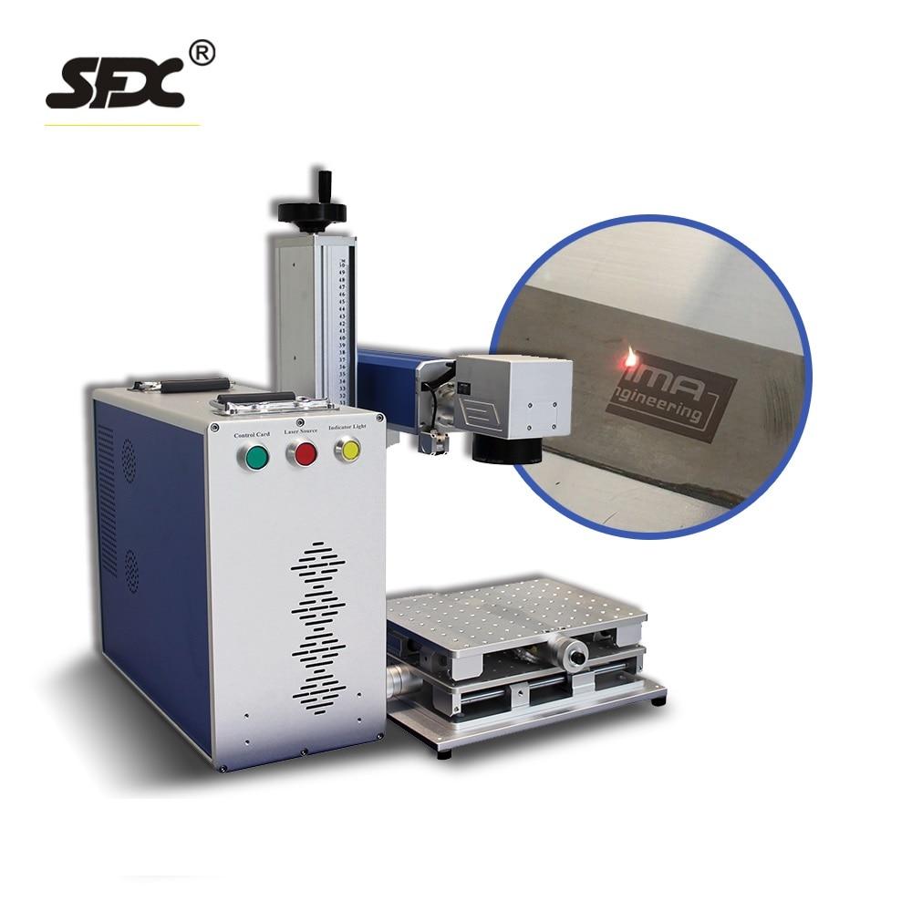 CNC Laser Graveur Faser Laser Metall Kennzeichnung Maschine für Aluminium Gold Silber Messing 20W 30W 50W
