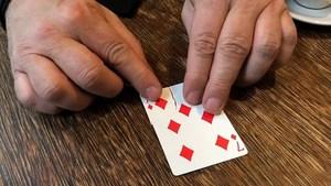 Image 4 - Torn Corner Machine (TCM) by Juan Pablo Torn Card Gimmick Card Magic Tricks Props Illusions Close up Restore Magician Deck