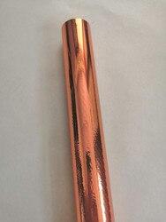 Lámina metálica de Estampación en caliente color bronce 289 prensa en caliente en tarjeta de papel o lámina de estampado de plástico película de estampado de calor 32cm x 120m