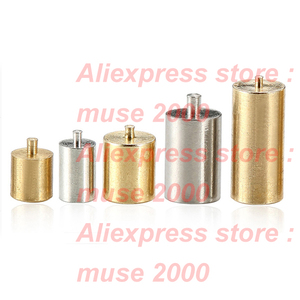 Image 1 - M1.4 standoff brass spacer copper weld soldering pin PCB LED SMT thread connector Copper Nut threaded pass Column