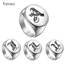 Оригинальные мужские кольца 26 дюймов кольцо на палец из нержавеющей