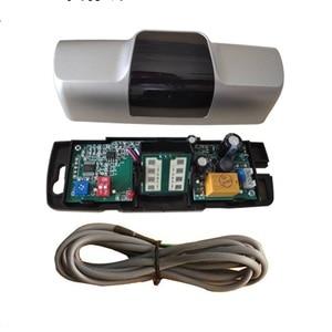 12VDC 24 ГГц Стандартный Универсальный микроволновый датчик движения, радар-детектор для раздвижной двери, открывалка лифта