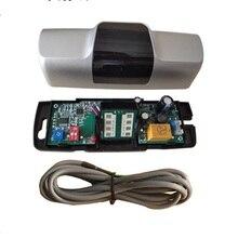 12VDC 24GHz standart evrensel mikrodalga hareket sensörü Radar dedektörü sürgülü kapı asansör açacağı