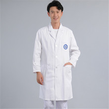 Medical White Lab Coat For Men And Women, Long Sleeve Doctor's Work Uniform Doctor's Work Clothes For Food Factory mens work clothing sets long sleeve men women factory labor engineering clothes work wear jacket and pants plus size s 4xl