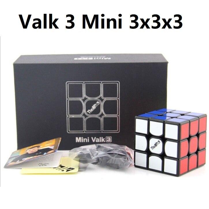 Qiyi Valk 3 Mini 3x3x3 Speed Cube The Valk3 4.74s 3x3 Magic Cube Valk3Mini 3x3 Puzzle Magic Cubo Qiyi 3x3 Cube Puzzle Toy Valk3