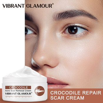 VIBRANT GLAMOUR Crocodile Repair Scar Anti -Wrinkle Aging Face Cream Moisturizing Whitening Oil-Control Shrink Pores Skin Care недорого