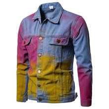 Jacket Men,  Hip Hop, Mens Denim Jacket, Japanese Streetwear, Hop Coats and Jackets Clothes