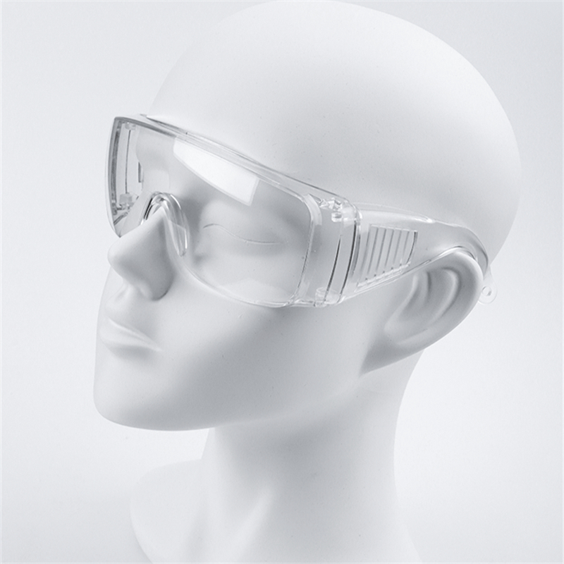 Lateefah Outdoor Safety Glasses Anti-dust Transparent Goggles Eye Protection Anti-Shock Goggles Unisex