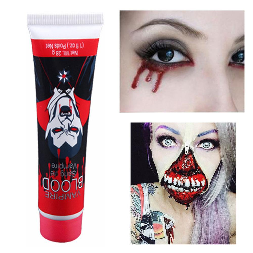HALLOWEEN HANGING EYE HORROR MAKEUP SCAR WOUND PARTY FANCY DRESS ACCESSORY