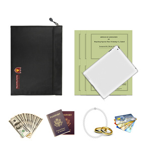 Image 4 - Fireproof Document Bag Waterproof Fire Resistant Pouch for Files Money Documents SP99