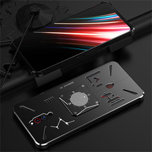 """Ochronny futerał na telefon skórzany pokrowiec na telefon ZTE Nubia Red Magic 5G 6.65 """"8/128GB 4500mAh obudowa na telefon do gier odporna na wstrząsy"""