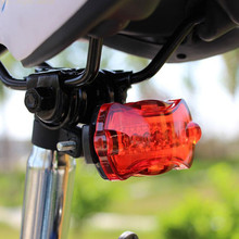 Bicycle Lights Tail Lights Mountain Lights Safety Warning Lights Bicycle Accessories Riding Equipment Cool Tail Lights cheap HND02 Handlebar Battery 6 5*4*2 6cm Highlight 3 hours low 6hours height low light flashing