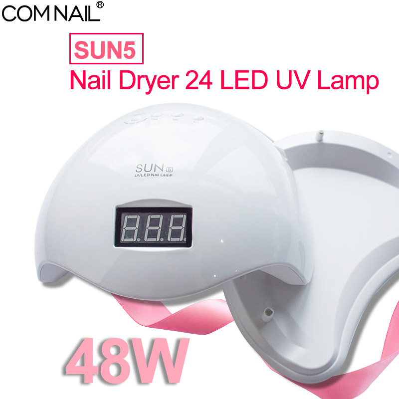 48W SUN5 Professional 24 LED UV  Nail Lamp For Nail Gel Polish Led Nail Light Nail Dryer Manicure UV Lamp Nail Art Tools Machine