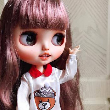 1/6 BJD 30CM Doll toys 19 joint Top Quality Chinese Doll BJD Ball Joint Doll Brown hair Cute strawberry makeup with s sleep eyes