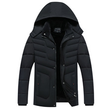 Parka Men Coats 2020 Winter Jacket Men Thicken Hooded Waterproof Outwear Warm Coat Fathers Clothing Casual Mens Overcoat