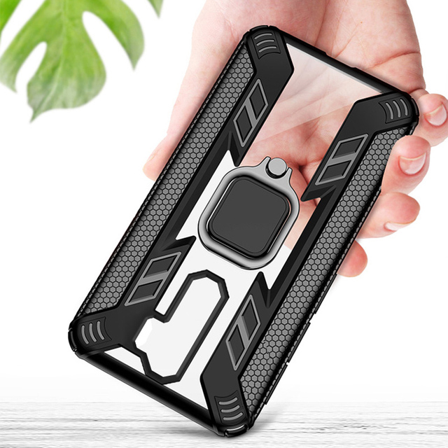 KEYSION Shockproof Case for Redmi Note 8 Pro 8T 9S 9 Pro Max 7 K30 K20 Phone Cover for Xiaomi Mi 10 9T 9 Lite A3 X3 NFC F2 Pro 3