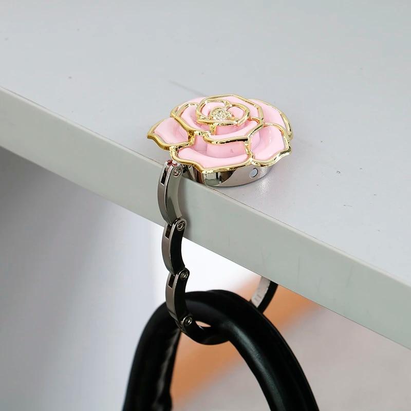 bag holder table purse hook table purse hook bag hook Rose purse hook purse holder purse hanger purse hook for table