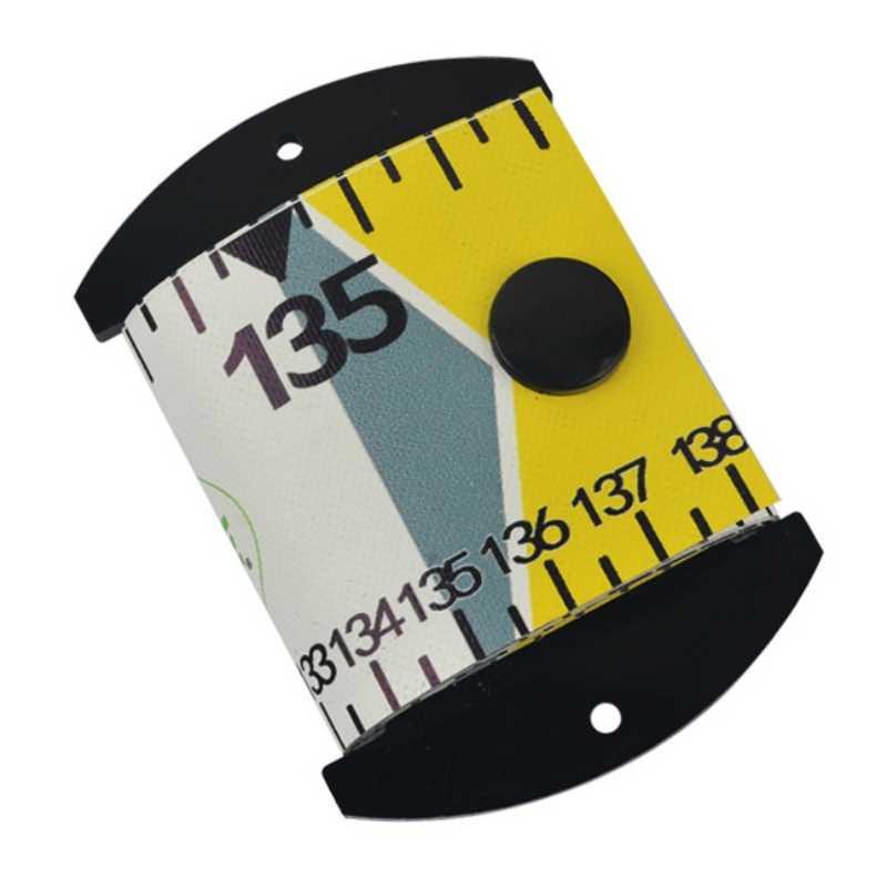 1PCS Waterproof Fish Measuring Ruler PVC Fishing Ruler Measurement Tackle Tool #