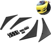 Lip-Splitter Chin-Accessory Car-Spoiler Front-Bumper Auto-Body-Kit Canards Universal Car