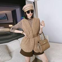 2020 осенне зимние модели одежды Корейская версия мехового цельного
