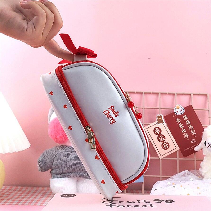 Pencil Cases Kawaii Case Cute Girl Bags School Office Supplies Box Estuche Estojo Stationery Trousse Scolaire Etui High Capacity