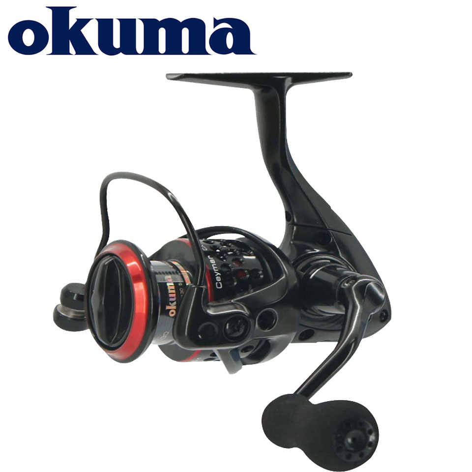 Okuma Ceymar Spinning Reel 7 + 1BB Max 15KG Power Ultimative Glätte Angeln reel Korrosion-beständig graphit körper angelrollen
