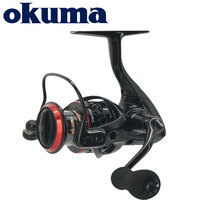 Okuma Ceymar Spinning Reel 7+1BB Max 15KG Power Ultimate Smoothness Fishing reel Corrosion resistant graphite body Fishing Reels