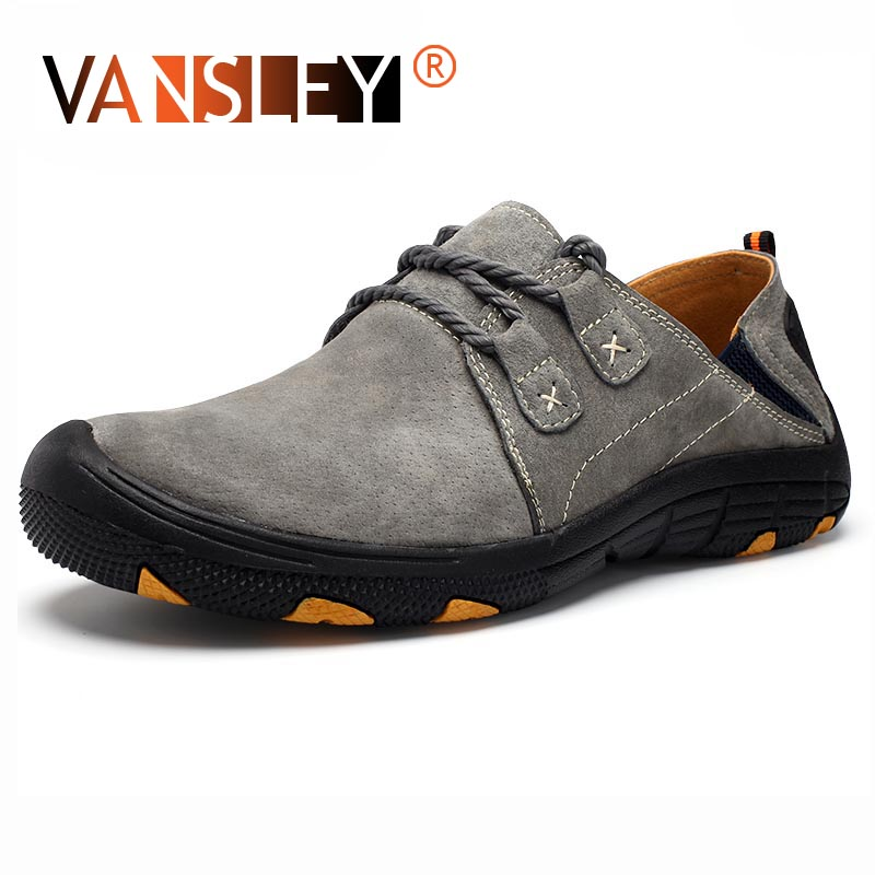 New Autumn Men's Casual Shoes High Quality Suede Leather Moccasins Loafers Breathable Driving Shoes Men Soft Bottom Men's Shoes