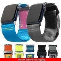 Correa de Nylon para Apple Watch 6/se/5/4/3/2/1, Correa activa LE para iwatch 44mm 42mm, pulsera deportiva para UAG Iwatch