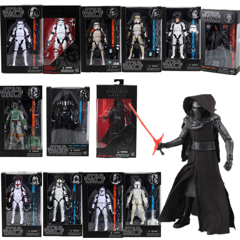 6inch Star Wars Figure Darth Maul The Black Series 06 Sandtrooper02  Action Figures Toys Collection Of Toys And Gifts For Kids