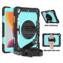 Heavy Duty Case For iPad 10.2 A4 10.9 Cover For iPad 9.7 Pro9.7 Pro10.5 Air 3 Pro 11 For Mini4 5 Smart Kickstand Cover