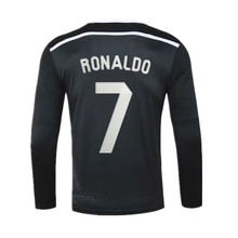 2014/15 MadridES Retro RONALDO Vintage Jersey Shirt Men's Long sleeve Breathable Fast Shipping