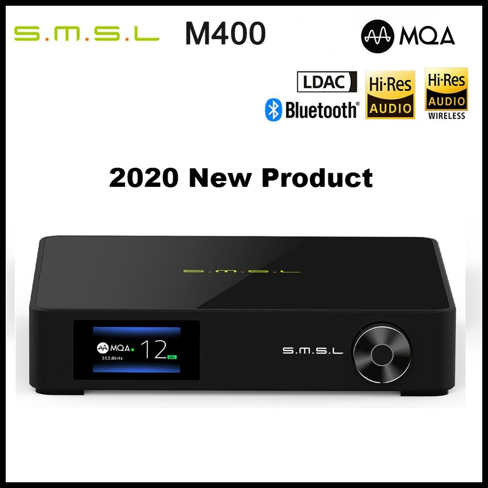 SMSL M400 Flagship <font><b>DAC</b></font> AK4499 Full Balanced Buletooth 5.0 DSD512 PCM 768kHz/32bit Decoder <font><b>USB</b></font> <font><b>DAC</b></font> Support MQA LDAC image