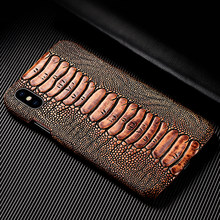 Luxury Genuine Leather Case For Huawei Y3 Y5 Y6 Y7 Y9 Pro Prime 2017 2018 2019 Hard PC Back Cover Vintage Phone Cases(China)