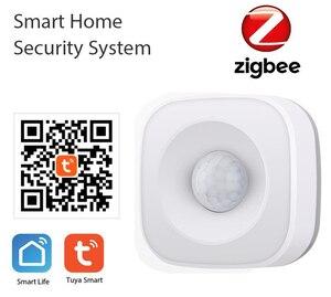 Image 2 - Tuya IFTTT Battery Powered Smart ZigBee PIR Motion Sensor Detector Home Alarm System works with Mini ZigBee Hub