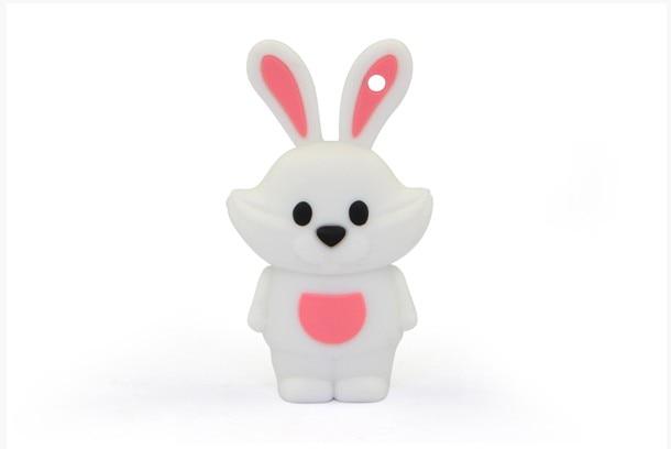 Pen-Drive Memory-Card Bunny Cartoon U-Disk 4GB 8G 16GB 32GB 64G 128GB Lovely