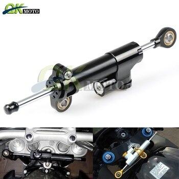 Motorcycle CNC Aluminum Accessorie Damper Stabilizer Damper Steering For logo Yamaha mt03 MT03 MT-03 Linear Safety Control