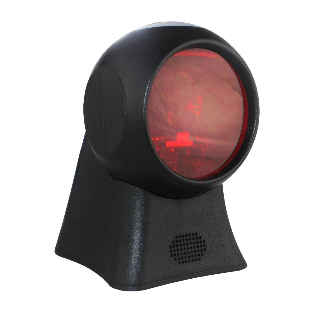 Сканер штрих-кода 1D платформа лазерный датчик быстрая скорость декодирования супермаркет оплата считыватель штрих-кодов платформа считыв...