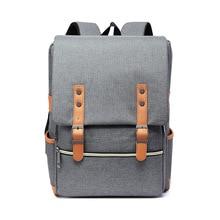 Vintage Men Women Nylon Backpacks School Bags For Teenagers Boys Girls Large Capacity Laptop Backpack Unisex Backpacks
