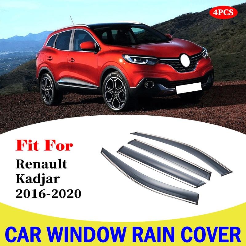 Купить окно дождевик козырек окна автомобиля защита крышка для renault