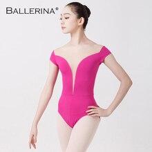 Ballet Maillots Voor Vrouwen Yoga Sexy Dans Professionele training gymnastiek Digitale afdrukken Maillots DANS VIS BEAUTY 5648