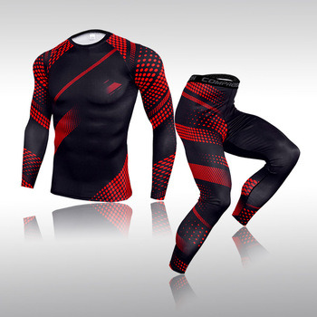 Compression Mens Warm Underwear Long Johns Hot Selling Fitness Base Thermal Leggings Men Tights Clothing