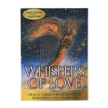 44 Pcs Oracle Tarot whisper of love  Oracle Cards Board Deck Games Palying Cards For Party Game