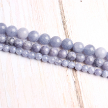 Purple Sapphire Natural Stone Beads For Jewelry Making Diy Bracelet Necklace 4/6/8/10/12 mm Wholesale Strand