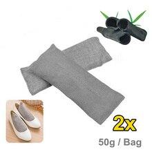 Серый бамбуковый уголь дезодорант с активированным углем освежитель воздуха мешок поглощения запаха