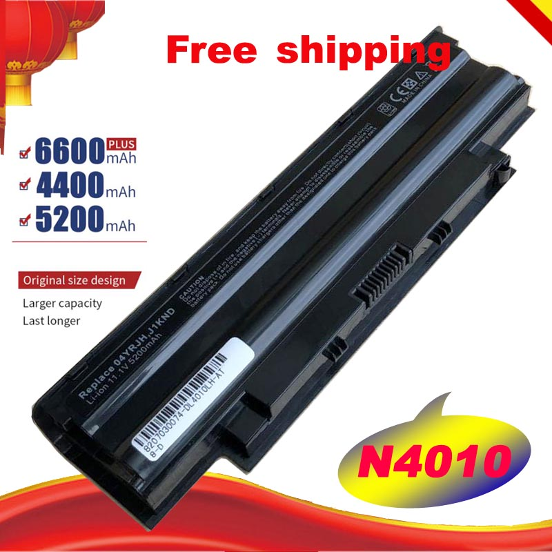 New Laptop Battery For Dell Inspiron 4T7JN 965Y7 9T48V 9TCXN FMHC10 J1KND J4XDH TKV2V YXVK2 N4010 N4010D 5010 N5010 N5010D