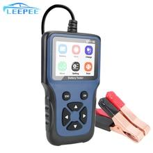 12v automotivo ferramenta de diagnóstico do carro carregamento cricut teste carga v311b carregador bateria carro tester analyzer ferramentas