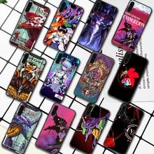 Genesis Evangelion NGE EVA Phone Case For Samsung Galaxy A7 9 8 10 20 20e 21 S 30 30S 31 41 50 50S 51 70 71 91 black Waterproof